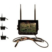 7 Dvr W/3 Digital Wireless Agriculture Or Commercial Cameras