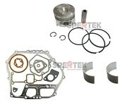 Piston And Gaskets + Bearing For Yanmar Diesel Engine And Generator L100 186f 10hp