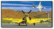 And The Legend Flies On By David Mueller - R.a.bob Hoover - Aviation Art