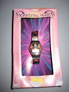 2000 General Mills Monsters Watch - Boo Berry Franken Berry Count Chocula Box