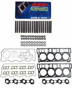 Arp Cylinder Head Stud Kit And Head Gasket Set 18mm 03-06 Ford 6.0l Powerstroke