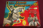 Vintage The Lone Ranger Silver Bullets Game 1956 W/box Complete Rare