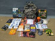 Emergency Survival Disaster Preparedness Bail-out-bag 72+hr. Camping Pack.