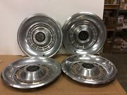 1977 1978 1979 1980 1981 1982 1983 Ford Ltd 14andrdquo Hubcap Wheelcover Set Of 4 Oem