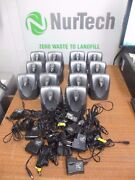 Lot Of 14 Plantronics Cs55 Wireless Headset System W/ Only Adapter