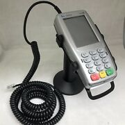 Verifone Vx820 Pinpad With Spill Cover Vx520 Connection Cable And Metal Stand