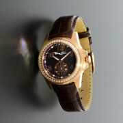 Genuine Thomas Sabo Ladyand039s Brown Glam Chic Watch Wa0238-266-205-33 Free Delivery