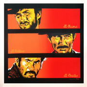 The Good The Bad The Ugly By Bill Perkins - Sundown Edition -24x24in - Not Mondo