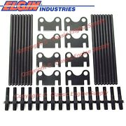 New Pushrods, Flat Guide Plates And 3/8 Rocker Arm Studs Sb Chevy 400 350 327 283