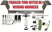 2006 06 2007 07 2008 08 2009 09 Buick Lucerne Trailer Hitch W/ Wiring Kit Easy