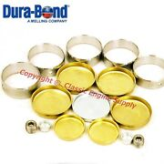New Cam Bearings And Brass Freeze Plug Set Buick 455 430 400 V8 Engines