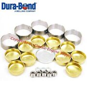 New Cam Bearings And Brass Freeze Plug Set Sb Chevy 400 V8 Engines