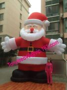 20ft Tall Giant Inflatable Santa Claus Blow Up Outdoorul Blower Include