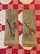Antique Vintage Tool Wall Art Antique Tools No. Ihc1595e Hand Crafted 4x12