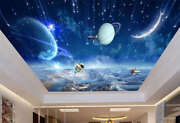 Walking On Space Full Wall Mural Photo Wallpaper Print 3d Ceiling Decor Home