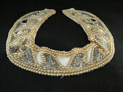 Antique Costume Jewelry Pearl Choker Necklace