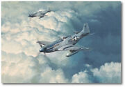 Looking For Trouble By Robert Taylor - North American P-51 Mustang - Col. Ed A/p