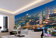 City Of Red And Wine Full Wall Mural Photo Wallpaper Printing 3d Decor Kid Home