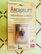 Anchorlift Windlass Up / Down Switch And Panel 2 3/4 X 1 3/4 90800