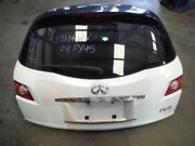 03 04 05 Infiniti Fx45 Fx35 Rear Hatch Liftgate Tailgate White With Camera