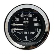 Smiths Classic Oil And Water Gauge Mgb Midget And Austin Healey Sprite Bha4900