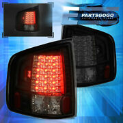 For 94-04 S10 Sonoma Hombre Smoked Lens Replacement Led Brake Tail Lights Lamps
