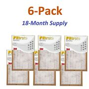 6-pk 18 X 30 X 1 Filtrete-basic 3m Air-filter Replacement Pad Furnace Dust Lot