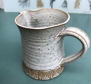 VINTAGE Los Artesanos Puerto Rico Art Pottery Pitcher - BEAUTIFULLY GLAZED