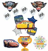 Disney Cars 4th Birthday Party Supplies Champion Trophy