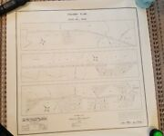 1948 - Map Of The Highway Plan For Viers Mill Road - Montgomery County, Maryland