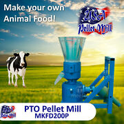 Pto Pellet Mill For Cow's Food - Mkfd200p - Free Shipping