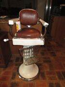 Antique Childand039s Barber Chair By Kochs