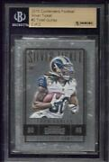 2015 Contenders Todd Gurley Silver Ticket .999 Fine Silver Rc Serial 2/2 Bgs