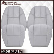 2007 To 2014 Chevy Silverado And Gmc Sierra Upholstery Seat Cover Replacement Gray