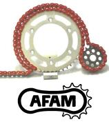 Afam Upgrade Red Chain And Sprocket Kit Honda Cbr1000rr 8-g 530 Oe 08-16