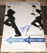 Steven Spielberg Signed Catch Me If You Can 12x18 Photo Poster W/exact Proof