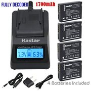 Dmw-bcg10 Battery Or Fast Charger For Panasonic Lumix Dmc-zs1 Zs3 Zs3a Zs3k Zs5