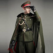 Male Cosplay The Kuomintang Army Uniform Fancy Party Full Body Costume Suit