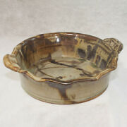 Ceramic Casserole Bowl - John Glick / Plum Tree Pottery - Signed