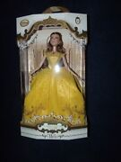 Disney Belle Limited Edition 17 Doll Live Action Beauty And The Beast /5500