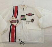 Vintage Nos Mach 1 Racing Jacket W/ Mach 1 Patch And Nos Keys And Key Fob Nos Shelby
