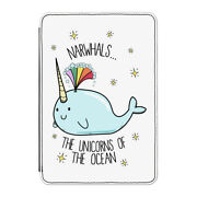 Narwhals The Unicorns Of The Ocean Case Cover For Kindle 6 E-reader - Funny