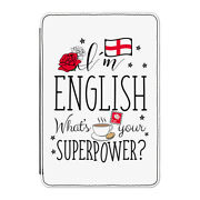 I'm English What's Your Superpower Case Cover For Kindle 6 E-reader - England