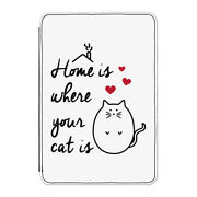 Home Is Where Your Cat Is Case Cover For Kindle 6 E-reader - Funny Crazy Lady