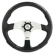 Sport Steering Wheel Carbon Look 350mm 13.8 Luisi Evolution 2 Made In Italy