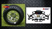 Club Car Ds Golf Cart 6 A-arm Lift Kit + 12 Wheels And 23 Tires 2004.5-up