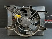 2012 Hyundai Sonata Electric Cooling Radiator And A/c Condensor Fan Motor Assembly