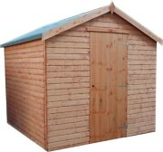 Garden Shed Top Quality Apex Wooden Garden Store Fully Tandg Outdoor Tool Hut
