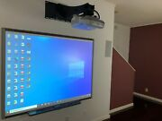 Interactive Smart Board Sb660 And Epson 470w Short-throw Projector