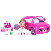 Happy Places Shopkins Bearry Fun Convertible Pippa Melon Doll Same Day Shipping